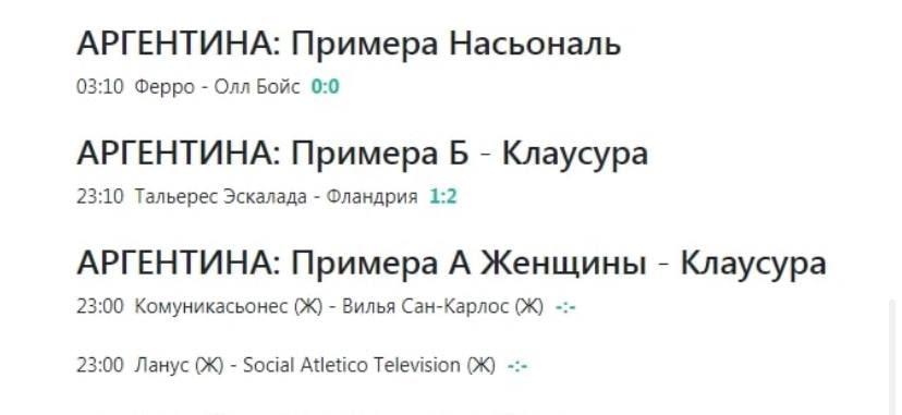 Статистика ExBets.ru