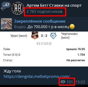 Каппер Артем Бет Ставки на спорт в Телеграмм